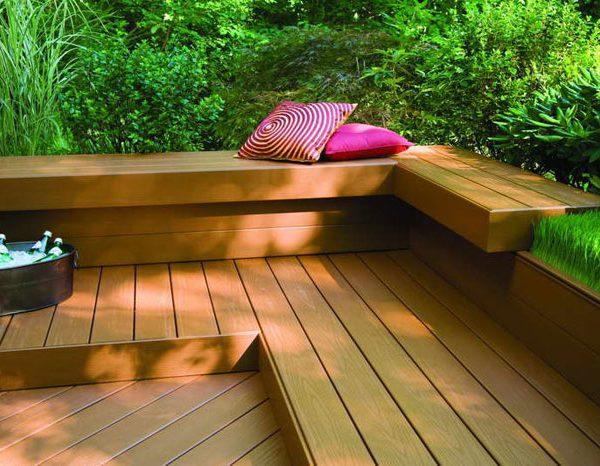 Externas multiuso placa Tarimã WPC composto para o revestimento de superfícies exteriores e terraços