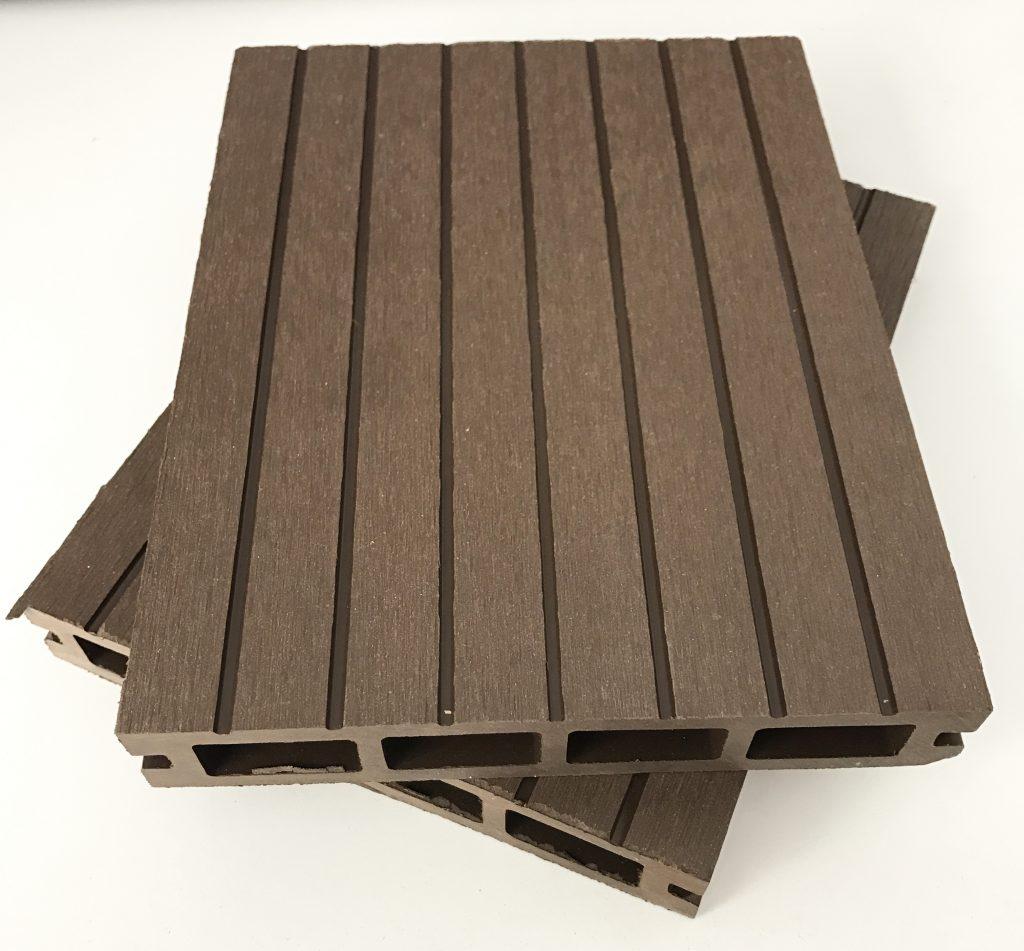 EXTERIOR COMPOSTO DO SOLO Tarimas 017 017 toque de madeira sintética WPC
